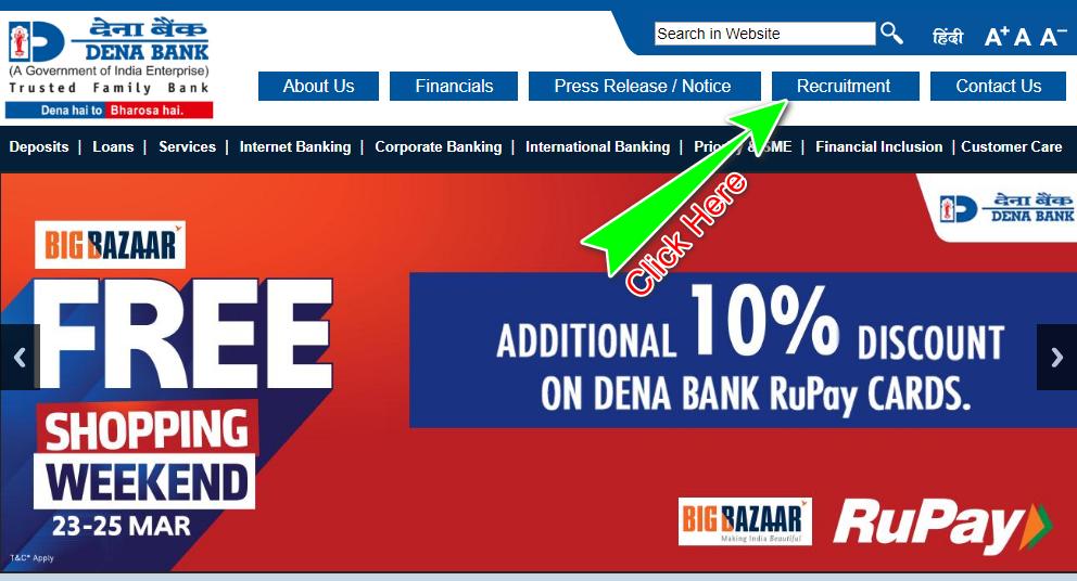 Den Bank Homepage