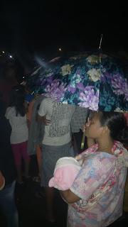 Meskipun Hujan, Perayaan HUT Pali Tetap Berlanjut