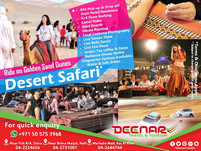 deenartravels desert safari, best desertsafari dubai, desertsafari abu dhabi