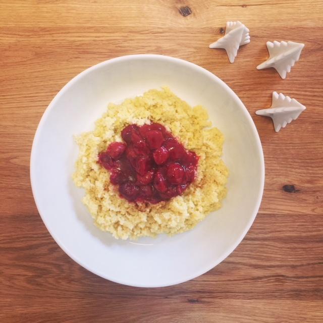Hirsegerichte gesund, einfach und lecker