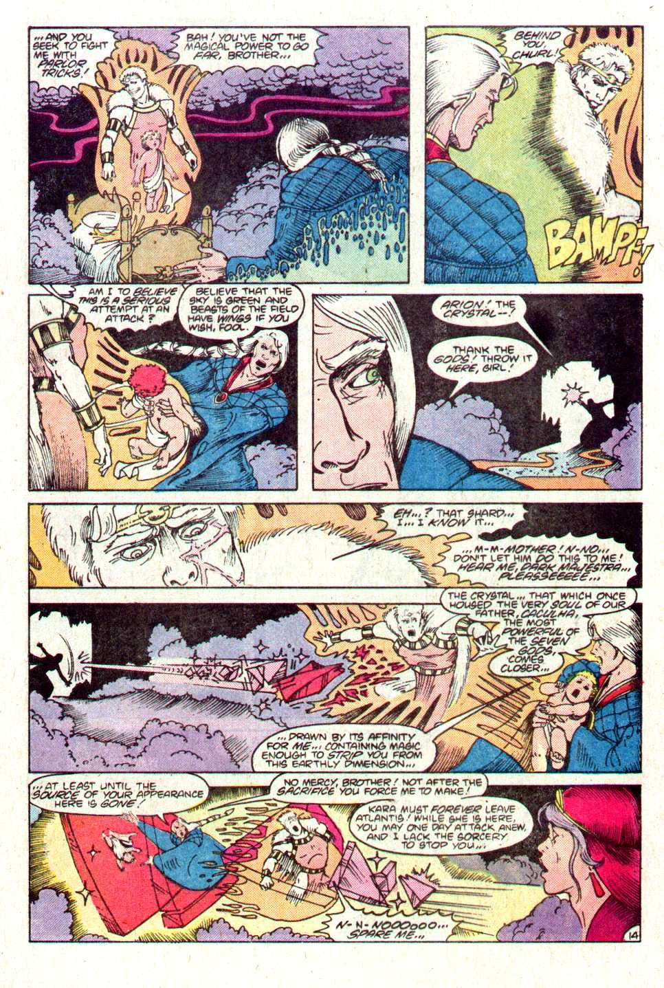 Read online Secret Origins (1986) comic -  Issue #11 - 15