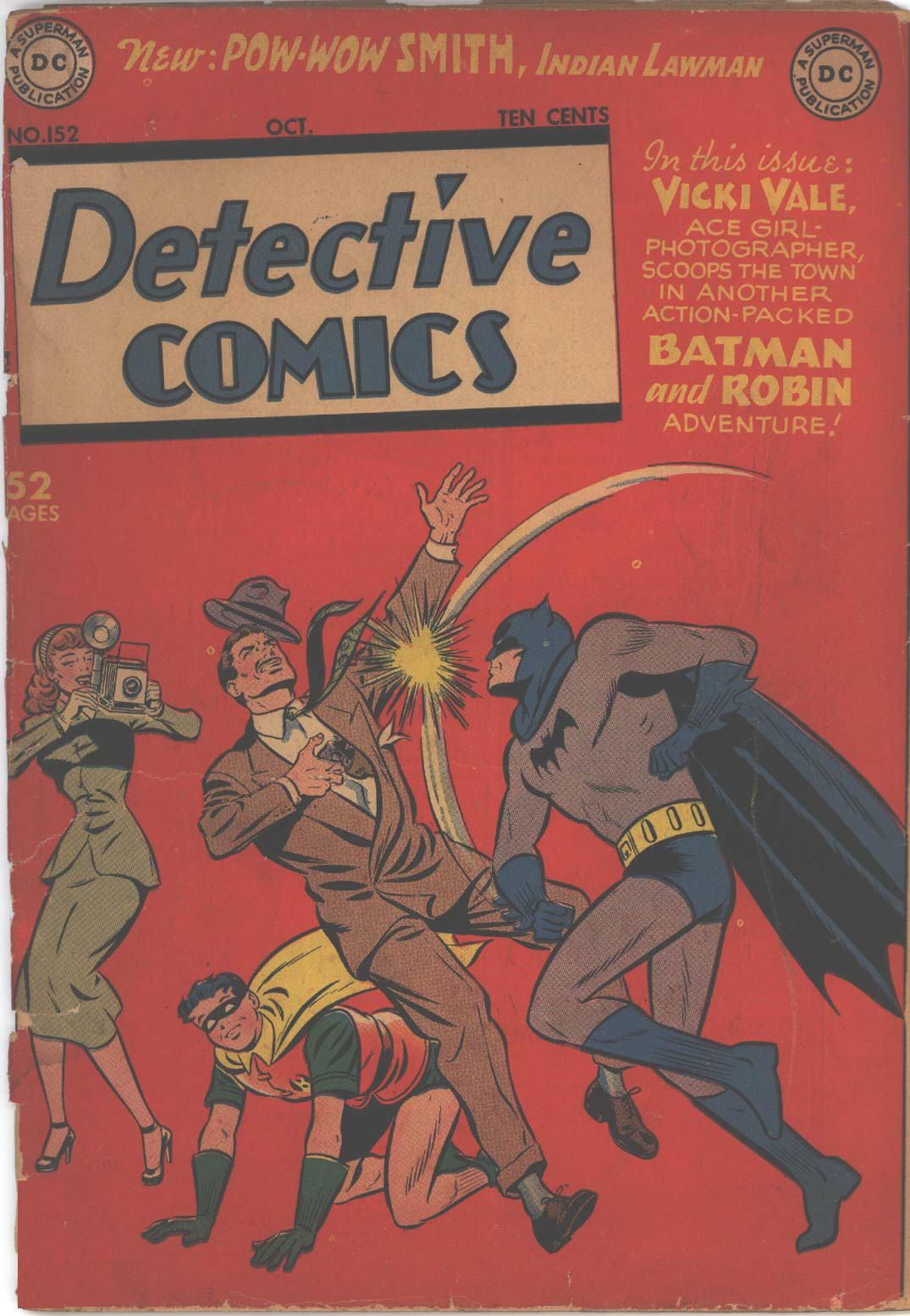 Detective Comics (1937) 152 Page 1