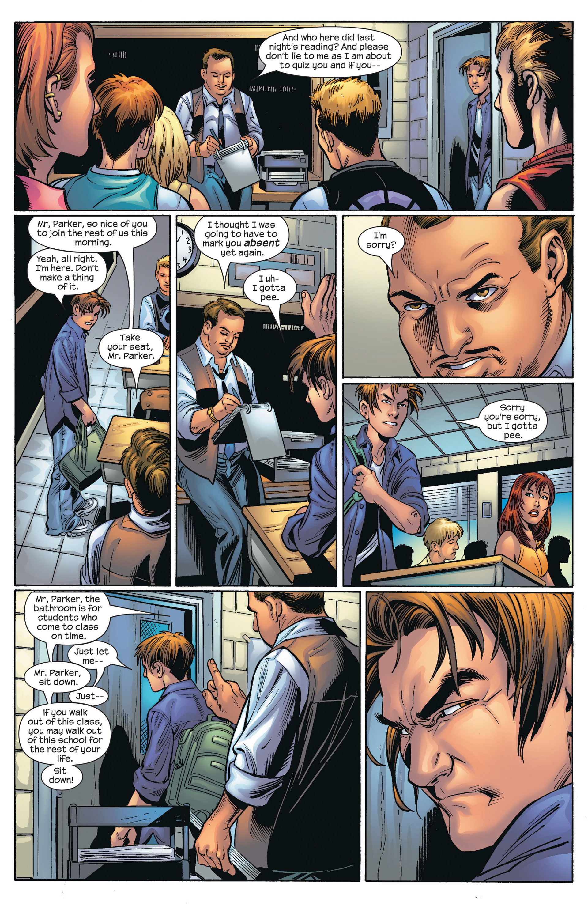 Read online Ultimate Spider-Man (2000) comic -  Issue #66 - 17