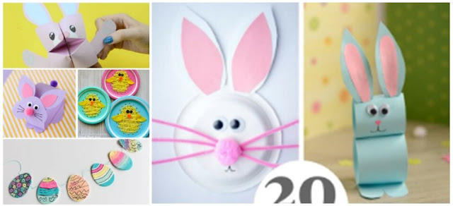 Easy And Fun Preschool Easter Crafts