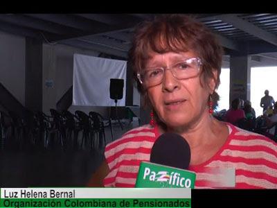 Pensionados de Cali se pronuncian por el SÍ en el plebiscito