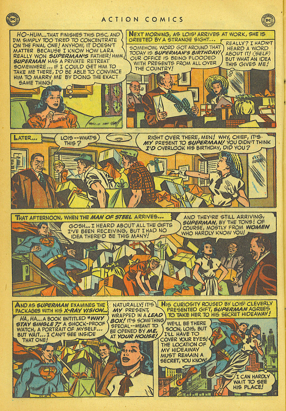 Read online Action Comics (1938) comic -  Issue #149 - 9