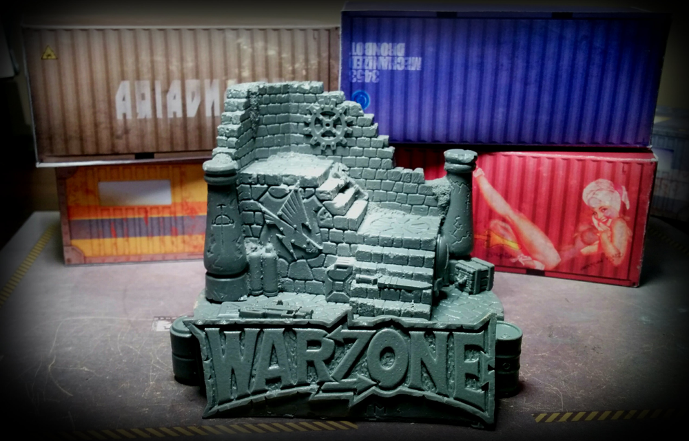 Warzone - diorama - front