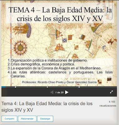 https://es.slideshare.net/ricardochaoprieto/tema-4-la-baja-edad-media-la-crisis-de-los-siglos-xiv-y-xv