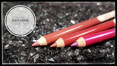 Neve Cosmetics – SuperHeroine Collection - Immortal, Blood, Trance