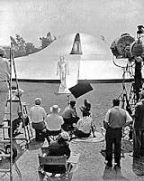 Filming The Day The Earth Stood Still
