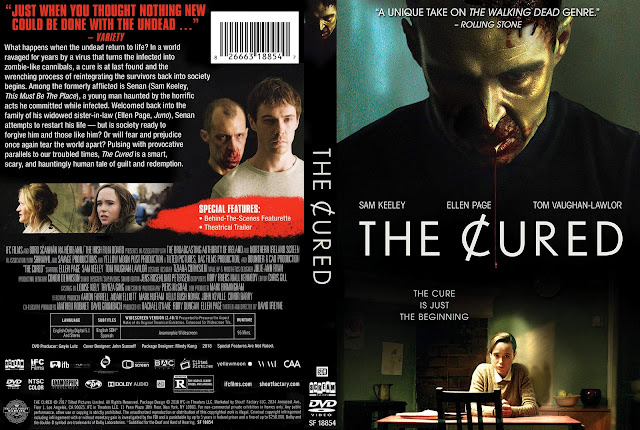 The Cured (scan) DVD Cover
