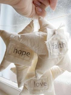 enfeites de natal em tecido