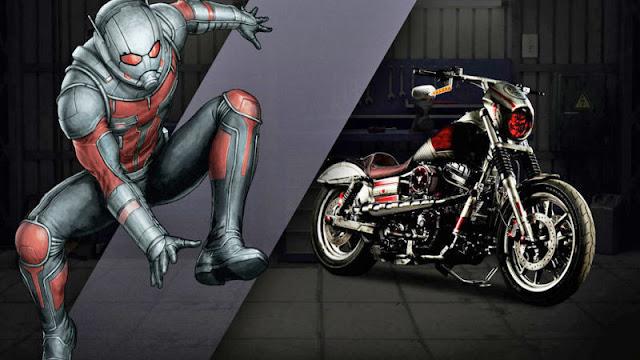 ant man Harley Davidson
