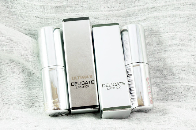 Ultima II Delicate series review, Ultima II delicate review, Ultima II delicate lipstick review, Ultima review Bahasa Indonesia, Ultima II review Delicate Bahasa Indonesia