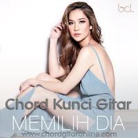 Chord Kunci Gitar Memilih Dia Bunga Citra Lestari BCL