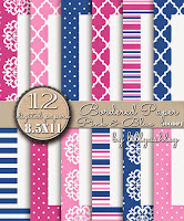 Quatrefoil Stripes Medallion Polka Dots Backgrounds Printables