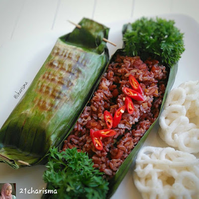 Cara Membuat Nasi Bakar Seafood