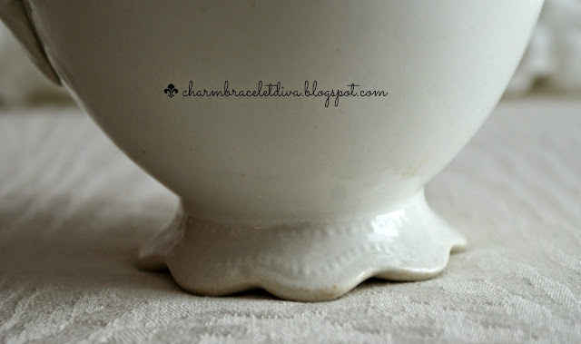 Vintage Warwick China ironstone pitcher