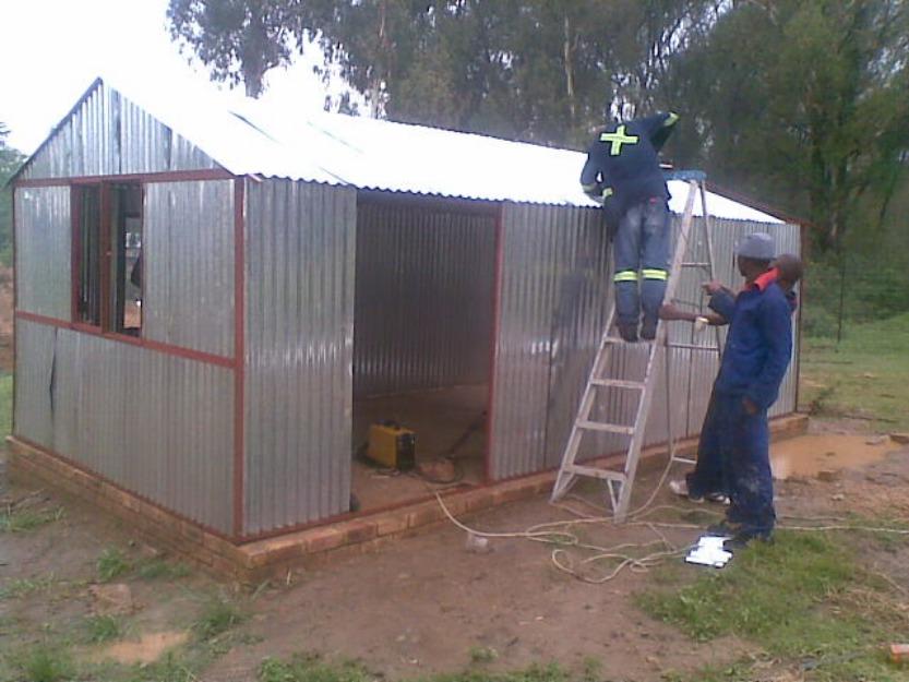 Stimteam Steel Huts Benoni Sale Stebenoni Pretoria