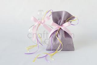λαδοσετ μπουκαλάκι σαπουνάκι ροζ μωβ λευκό για κοριτσίστικη βάπτιση
