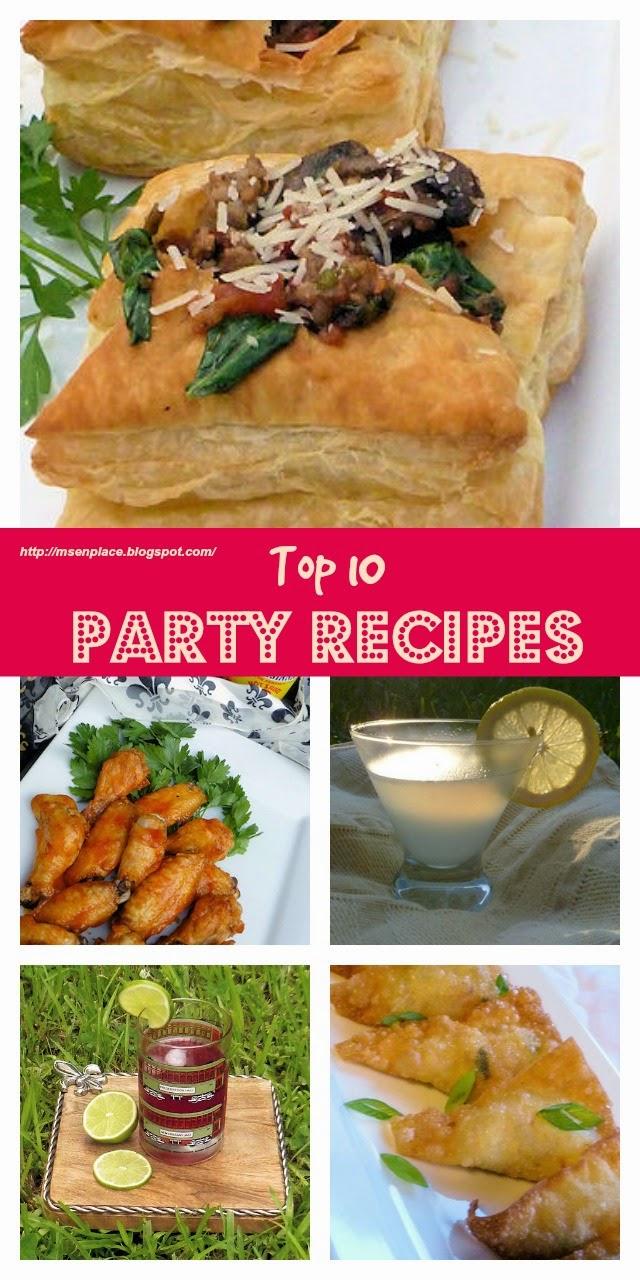 Top 10 Party Recipes