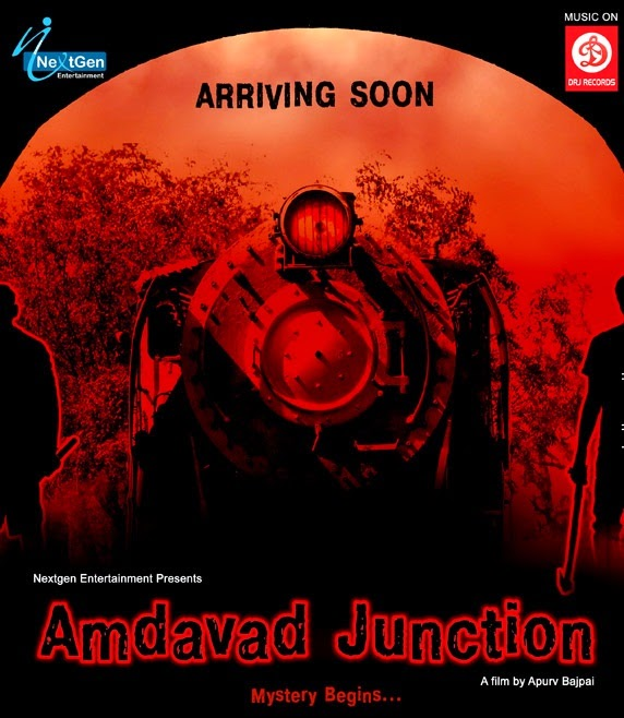 Poster Of Amdavad Junction 2013 Hindi 300MB HDRip 480p ESubs Free Download Watch Online