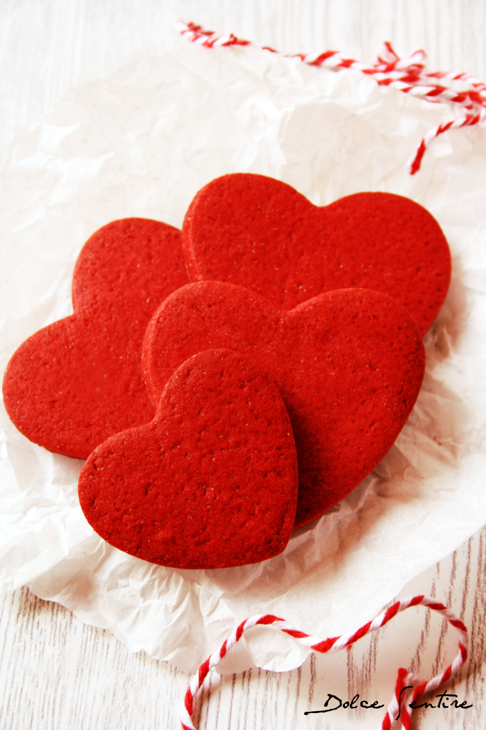 Galletas Red Velvet para decorar