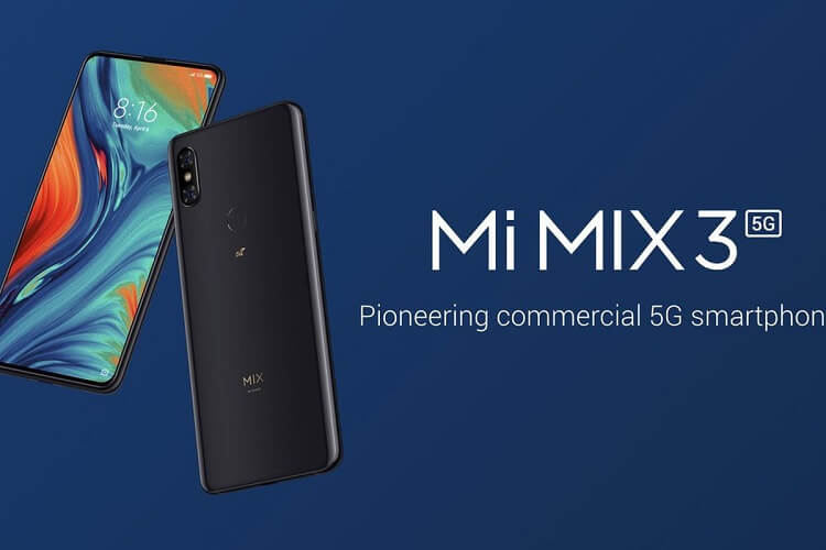 Xiaomi Mi MIX 3 5G Unveiled