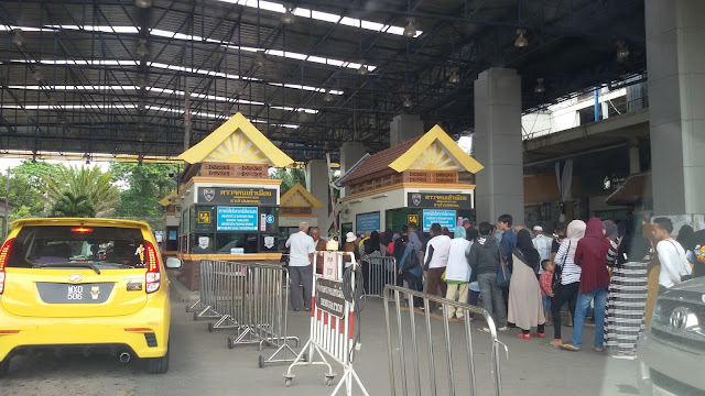 cara bawa kereta masuk thailand
