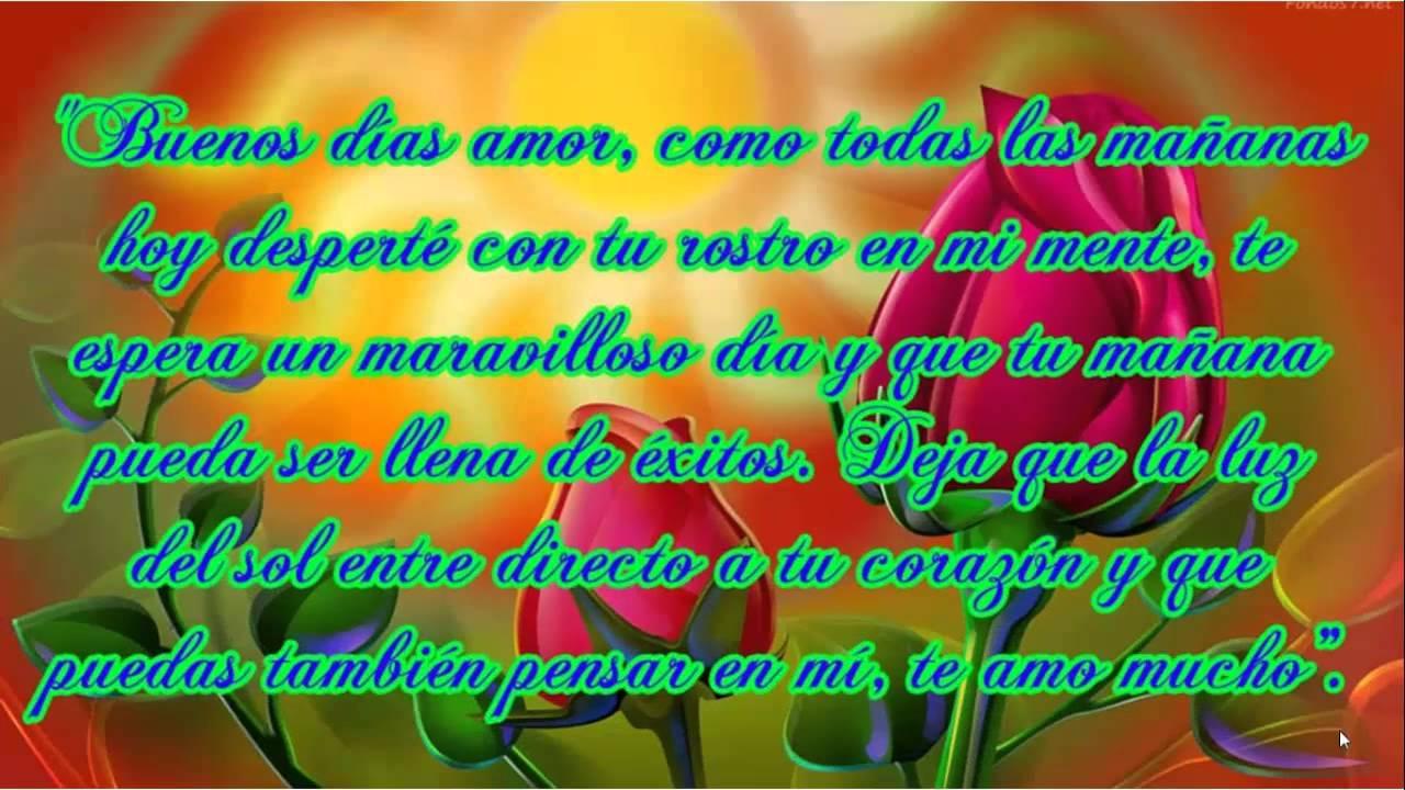 Poemas Corazon Buenos Dias Mi Amorcito Www Miifotos Com