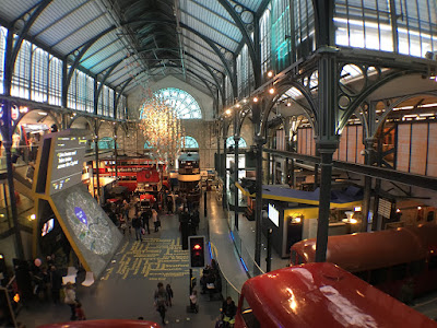 Inside the London Transport Museum