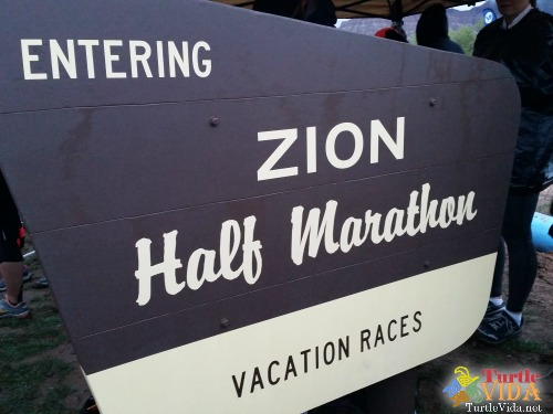 You'd think with nearly a year to prepare, I would have been totally ready for this race. But I wasn't. | #ZionHalf