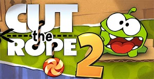 تحميل لعبة Cut the Rope 2 مهكرة كاملة للاندرويد