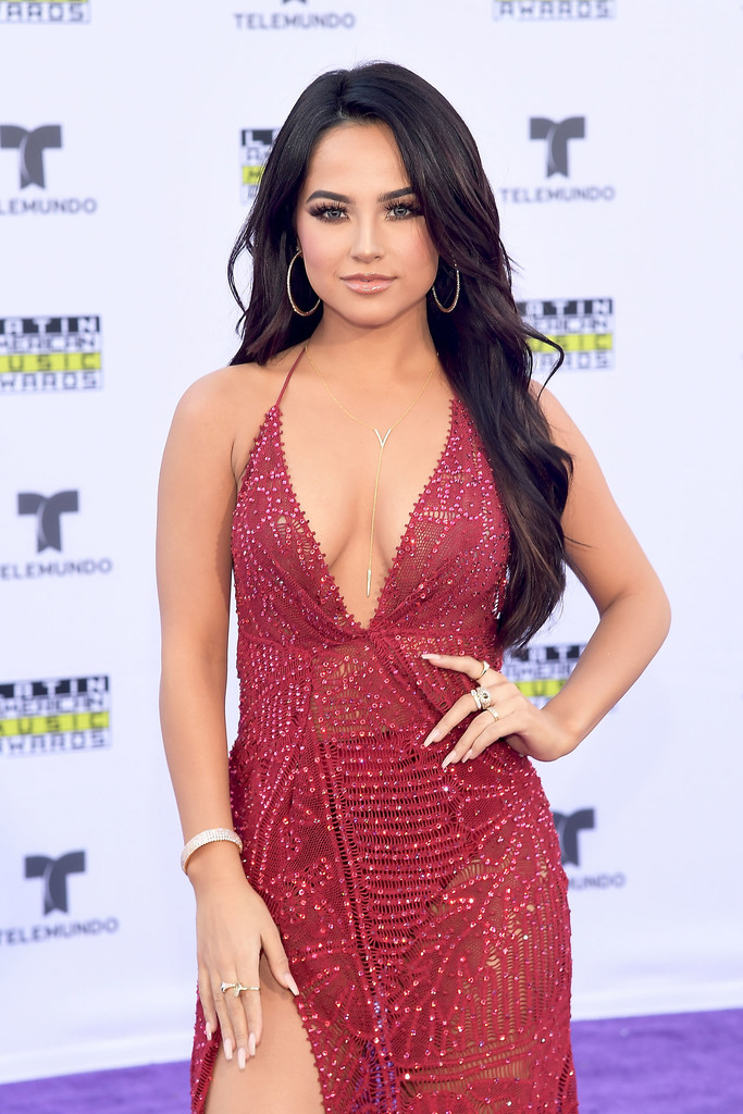 Becky G Hot Seen At 2017 Latin American Music Awards In -2843