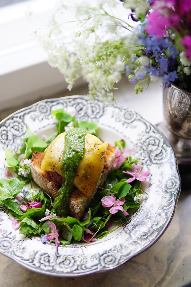 salaatti, villiyrtit, villivihannekset