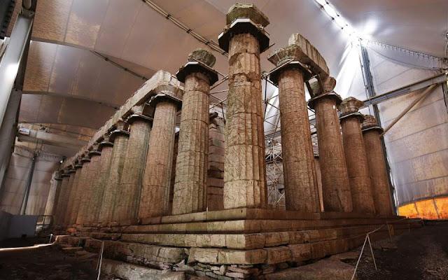Ancient Greek temple seeks divine intervention