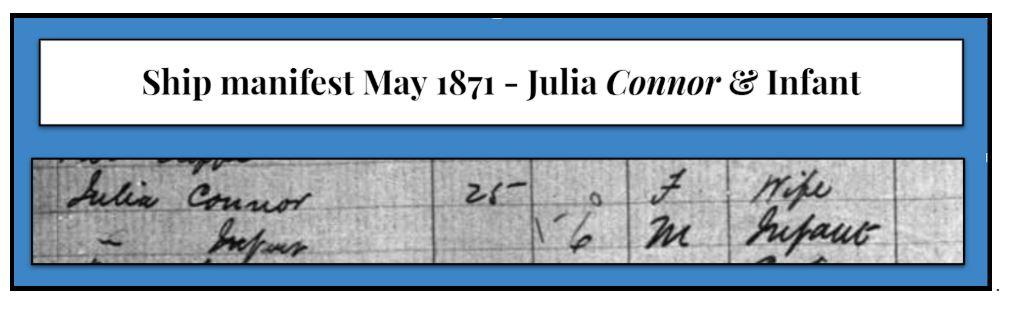 Family History: Anthony O'Connor & Julia Henry
