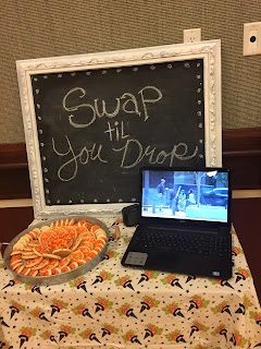 Relief Society Swap til you drop activity, Relief Society meeting idea, Halloween store bought cookies