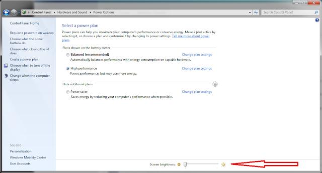 cara mengatur brightness kecerahan pada layar monitor laptop