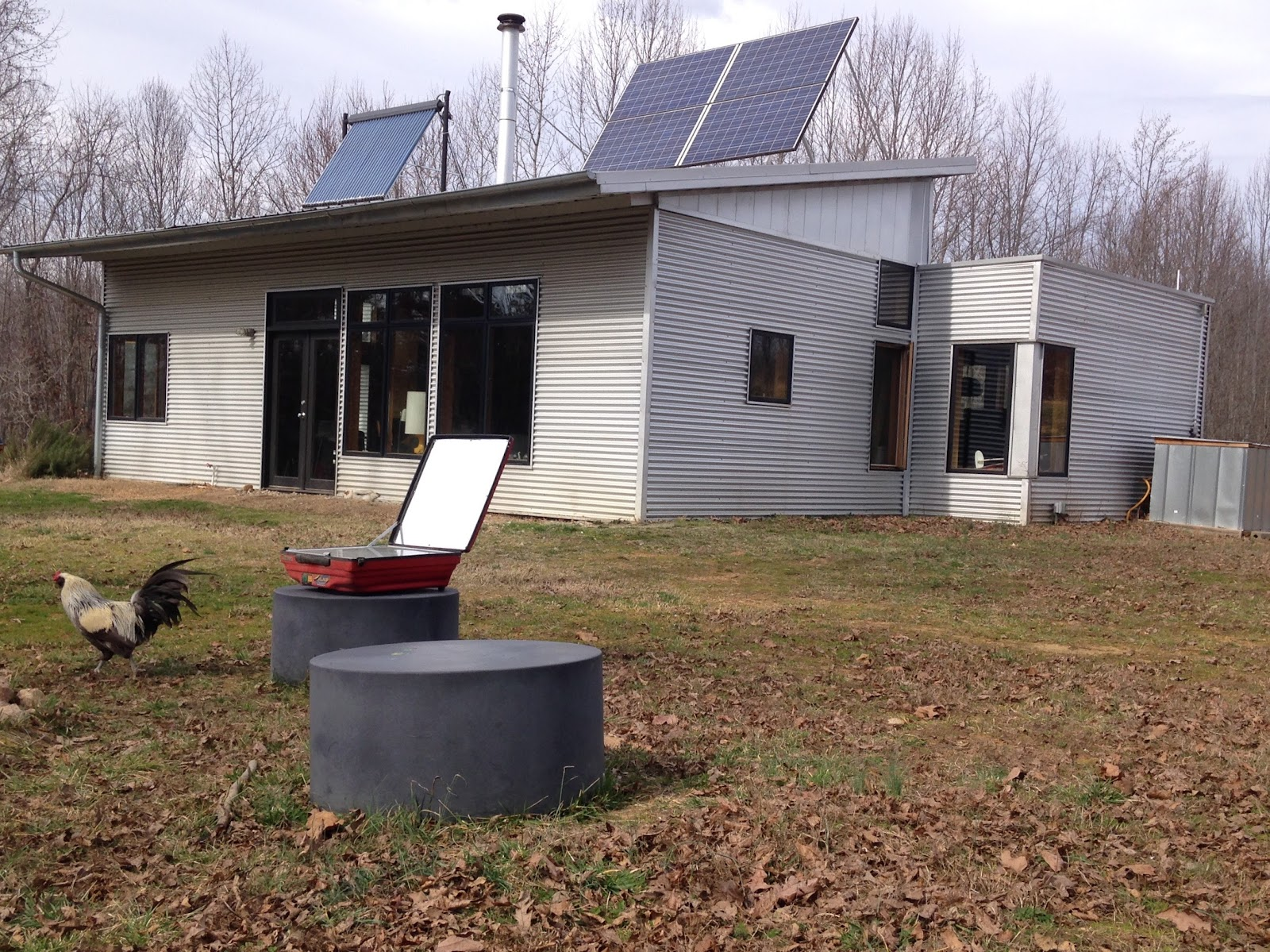 Modern Off Grid Prefab House And Homestead Hits High Temps ...