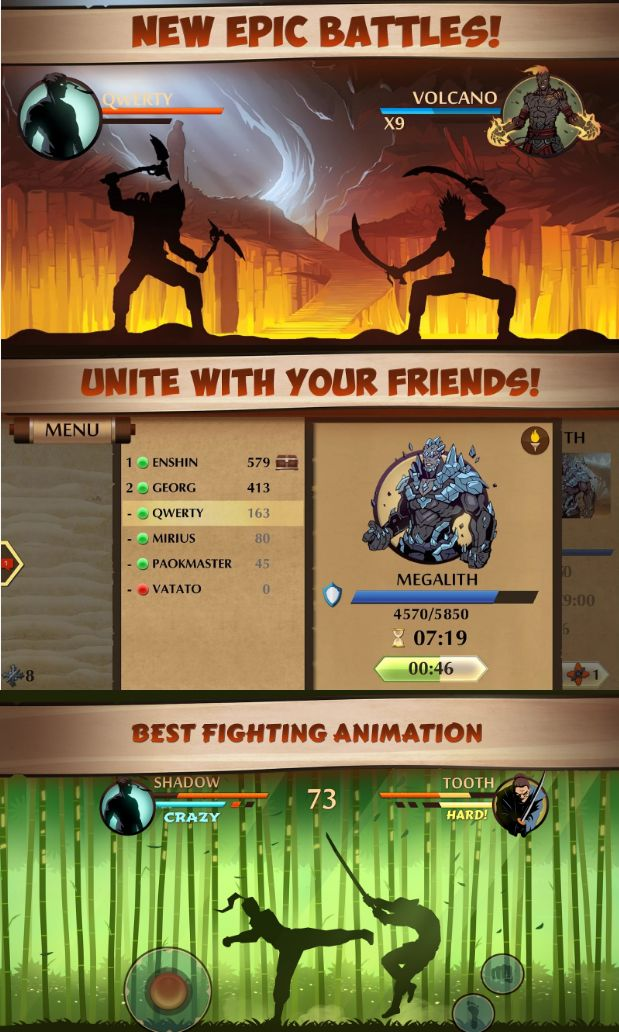 Shadow Fight 2 App - Screenshots