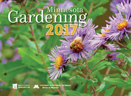 Cover of Minnesota Gardening Calendar 2017