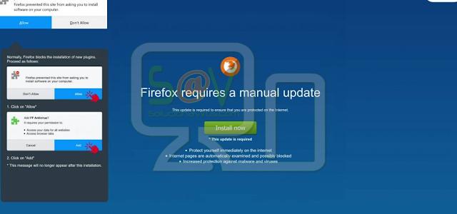 FF Reliable AntVir (Extensión forzosa de Firefox)