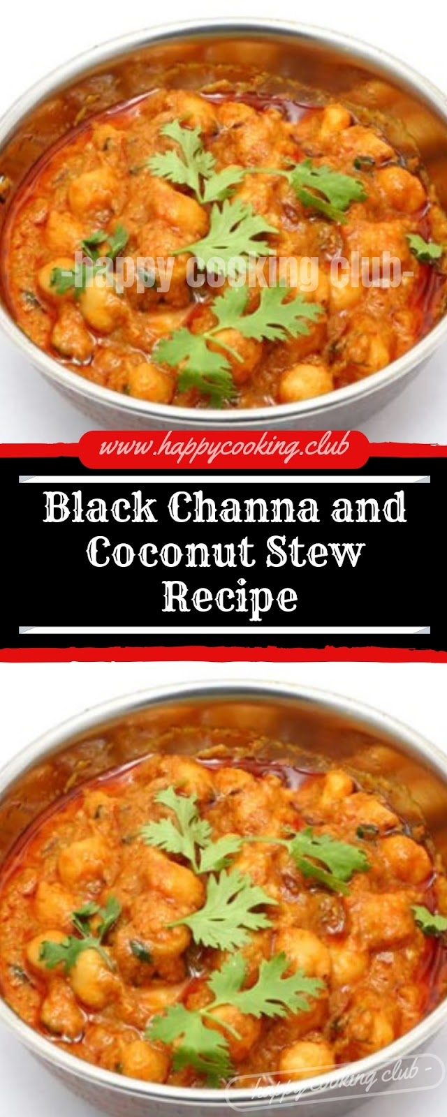 Black Channa and Coconut Stew Recipe
