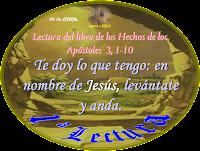 Resultado de imagen para En aquellos días, subían al templo Pedro y Juan, a la oración de media tarde
