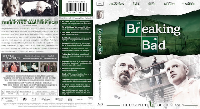 Breaking Bad Season 4 Bluray Cover