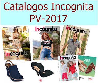 catalogos incognita primavera verano 2017