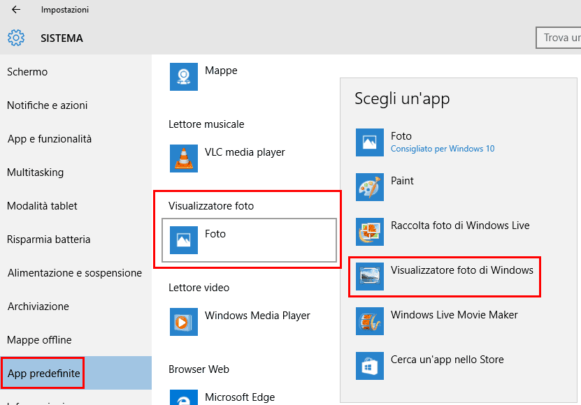 aggiornamenti visualizzatore foto di windows