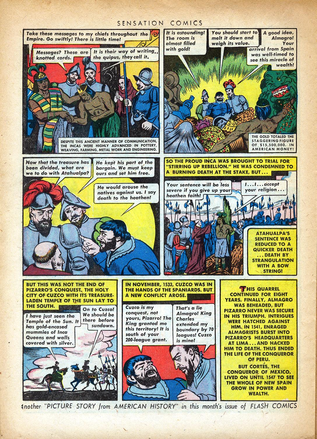 Read online Sensation (Mystery) Comics comic -  Issue #37 - 30