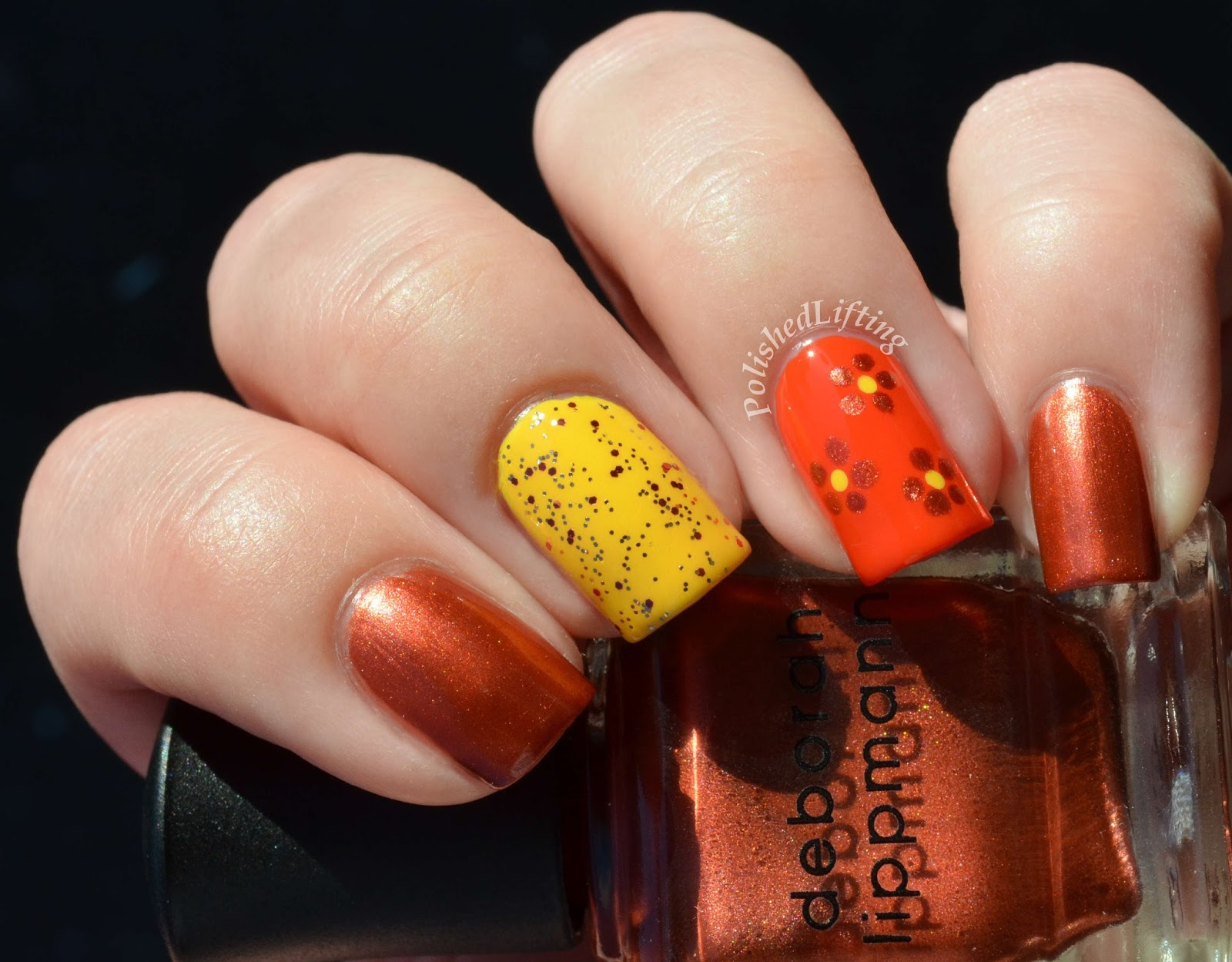 Deborah Lippmann Brick House Walking on Sunshine Don't Stop Believin' Sinful Colors Pumpkin Spice